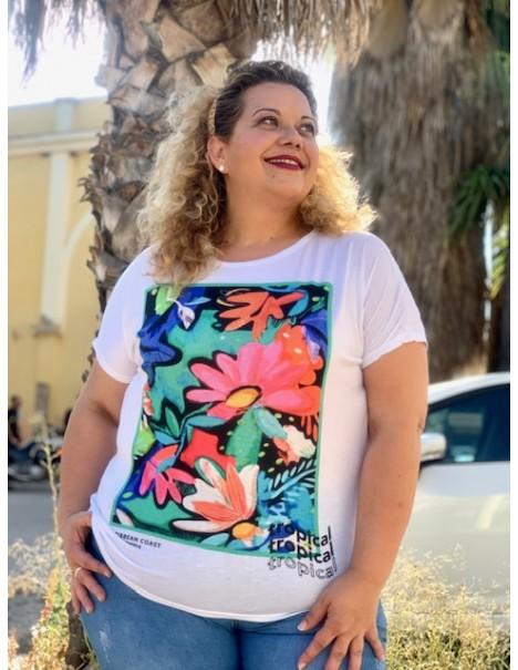 Camiseta Caribe Casual Curvy
