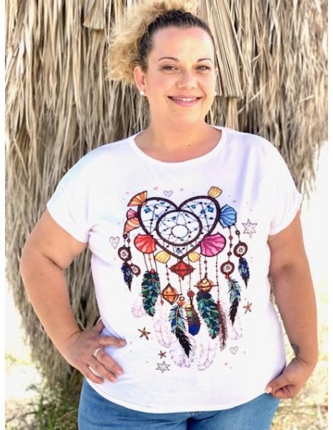 Camiseta Atrapasueños Curvy...