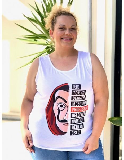Camiseta tirantas Casa de...