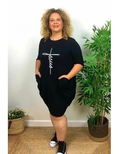 Vestido Negro Curvy